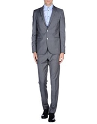 Royal Hem Suits Grey