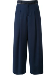 Guild Prime Pleated Palazzo Pants Blue