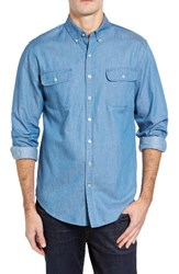 Vineyard Vines Men's Crosby Slim Fit Chambray Sport Shirt