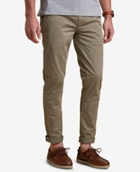Barbour Men's Neuston Slim Fit Stretch Light Green Chinos Lt Pas Grn