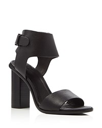 Joie Opal Ankle Strap High Heel Sandals Black