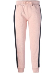 Mcq By Alexander Mcqueen Mcq Alexander Mcqueen Contrasting Band Track Pants Pink And Purple