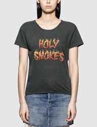 Mother Holy Smokes Short Sleeve T Shirt