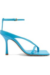 Bottega Veneta Leather Sandals Blue