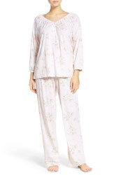 Carole Hochman Women's Cotton Pajamas Clover Toss