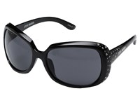 Steve Madden Kourtney Black Fashion Sunglasses