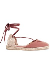 Castaner Kara Canvas Espadrilles Antique Rose