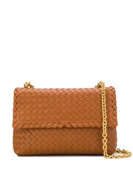 Bottega Veneta Small Olimpia Bag Brown