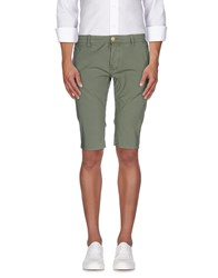Gas Jeans Gas Trousers Bermuda Shorts Men Military Green