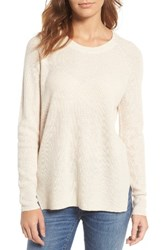 Madewell Women's Helena Pullover Heather Cement