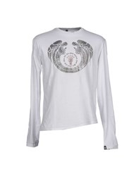 Bad Spirit Topwear T Shirts Men White
