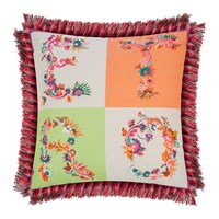 Etro Jacaranda Tassel Edged Cushion 45X45cm Multi