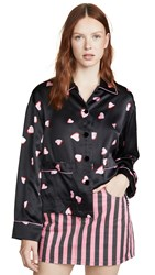 Marc Jacobs The Pajama Shirt Black Multi