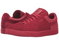 Puma Suede Classic Casual Emboss Barbados Cherry Men's Basketball Shoes Red