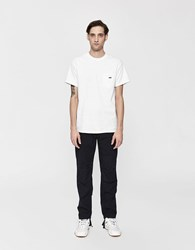 Obey S S Jumbled Pocket Tee In White