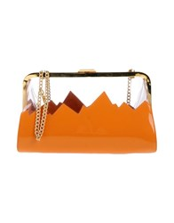 Moschino Cheap And Chic Handbags Orange