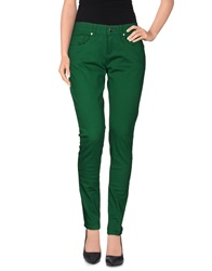Byblos Denim Pants Green