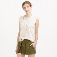 J.Crew Stacked Sequin Shell