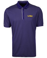 Antigua Lsu Tigers Draft Polo Purple