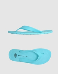 Fornarina Thong Sandals Bright Blue