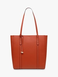 Radley Alba Place Leather Tote Bag Flame