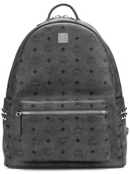 Mcm Small Stark Backpack Grey
