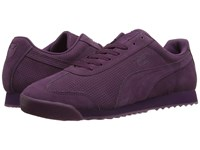 Puma Roma Mono Translucent Italian Plum White Men's Shoes Purple