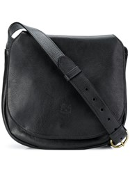 Il Bisonte Saddle Bag Black