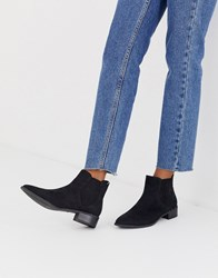 Call It Spring By Aldo Winonaa Flat Ankle Boots In Black