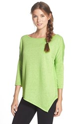 Women's Betsey Johnson Asymmetrical Pullover Lucky Lime