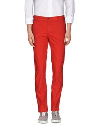 Franklin And Marshall Trousers Casual Trousers Men Red