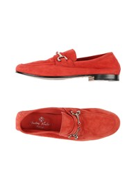 Andrea Ventura Firenze Footwear Moccasins Men Red