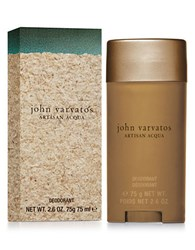 John Varvatos Artisan Acqua Deodorant 2.6 Oz. No Color
