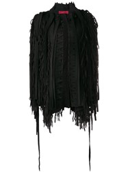 Di Liborio Deconstructed 'Monkey' Cardigan Black