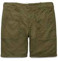 Engineered Garments Cotton Twill Shorts Army Green