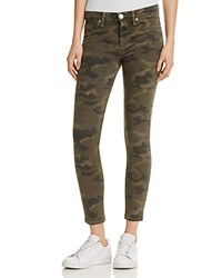 Hudson Nico Mid Rise Ankle Super Skinny Jeans Infantry Camo