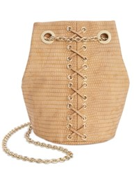 Inc International Concepts Cheebee Bucket Bag Only At Macy's Neutral