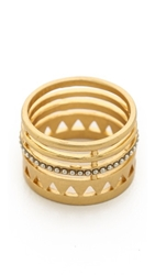 Madewell Open Point Ring Vintage Gold