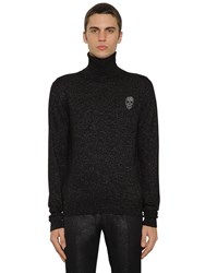 Alexander Mcqueen Wool And Lurex Knit Turtleneck Sweater Array 0X579c818