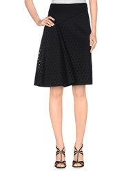 Schumacher Skirts Knee Length Skirts Women Black