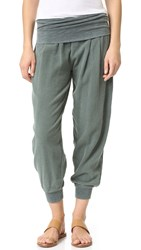 Stateside Bubble Gauze Pants Ivy