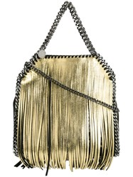 Stella Mccartney Mini 'Falabella' Tote Metallic