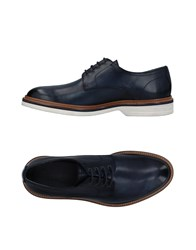 Pertini Lace Up Shoes Dark Blue