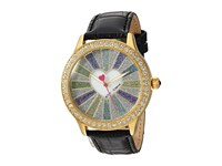 Betsey Johnson Bj00131 115 Spread Love Gold Black Watches