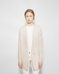 The Row Eleset Cashmere Cardigan Cream