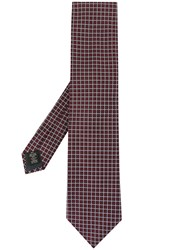 Ermenegildo Zegna Square Patterned Tie Do Not Use 60