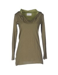 Peuterey T Shirts Military Green