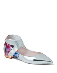 Ted Baker Cencaep Crisscross Band Flats Pink