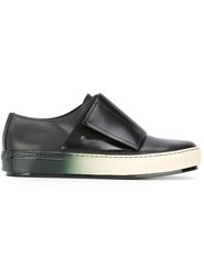 Marni Touch Strap Low Top Sneakers Black