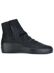 The Last Conspiracy 'Tormod' Hi Top Sneakers Black